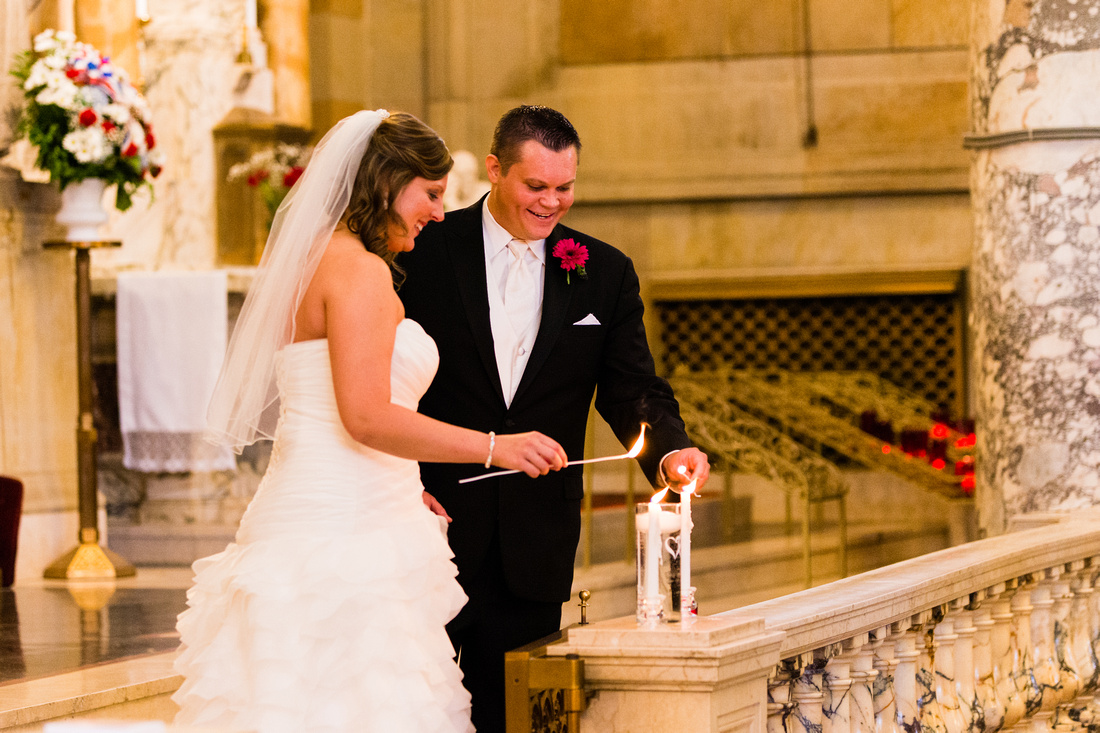A Wedding at the Basilica of the Immaculate Conception